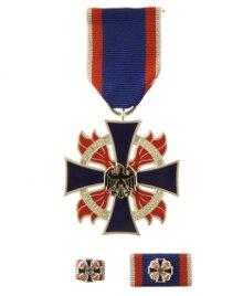 Deutsches Feuerwehr-Ehrenkreuz in Silber
